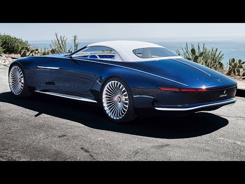 2018 Vision MercedesMaybach 6 Cabriolet  interior Exterior and Drive