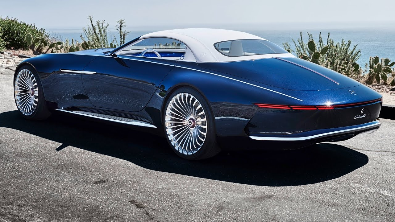 2018 vision mercedes-maybach 6 cabriolet - interior exterior and
