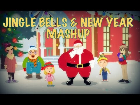 Popular Christmas Carols With Lyrics For Kids | Christmas And New Year Special