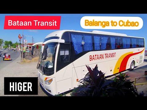 BATAAN TRANSIT (HIGER) BALANGA TO CUBAO TRIP