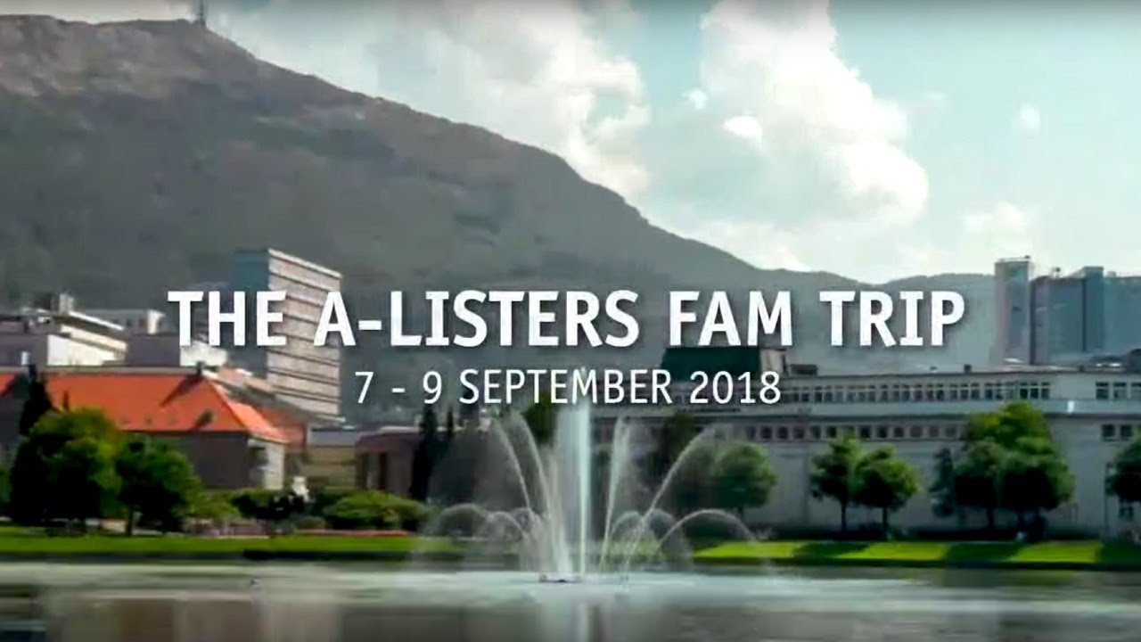 Thumbnail: The A-Listers fam trip to Bergen - teaser