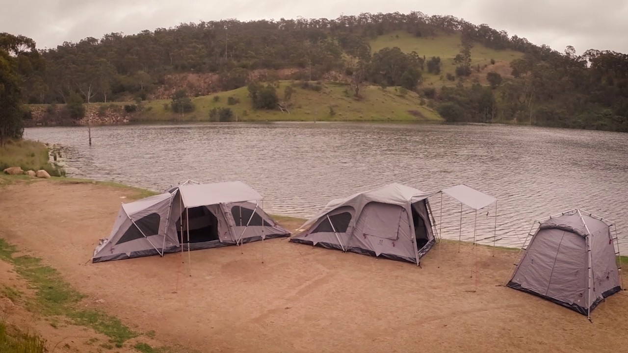 Jet Tent F Series by Oztent & Jet Tent F Series by Oztent - YouTube