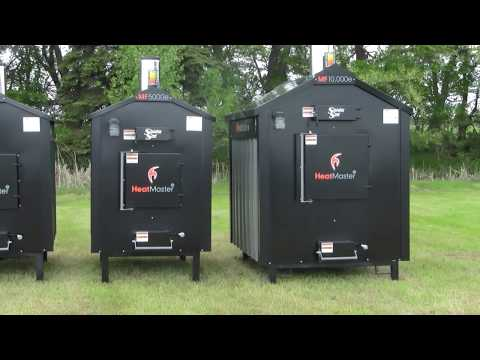 Heatmaster SS MF Series Outdoor Wood Burning Furnaces