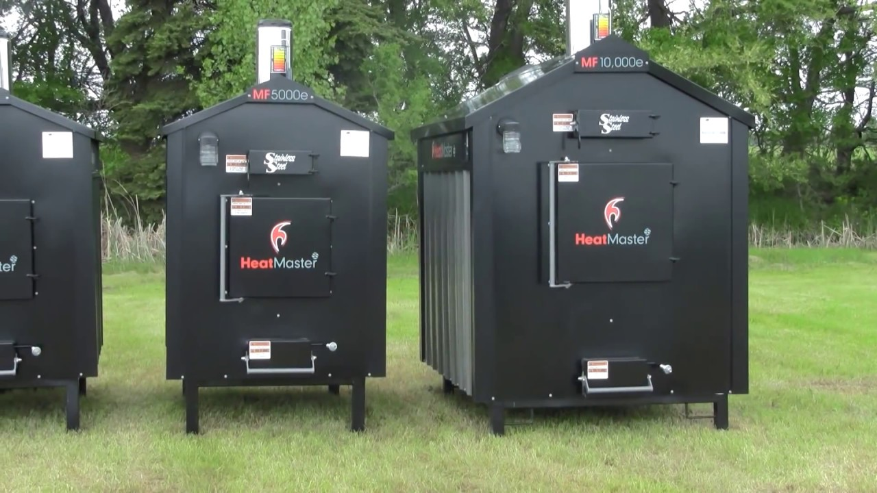 Heatmaster Ss Mf Series Outdoor Wood Burning Furnaces Youtube