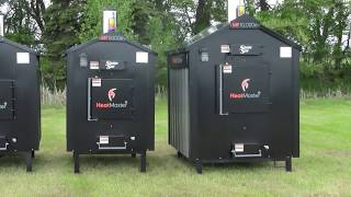 Heatmaster SS MF Series Outdoor Wood Burning Furnaces