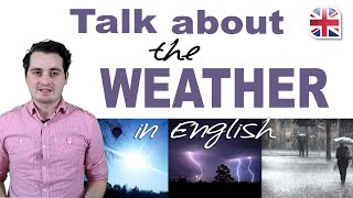 Talking About the Weather in English - Spoken English Lesson