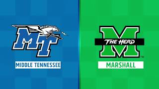 Highlights: Middle Tennessee at Marshall, Week 6