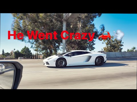 TallGuy Car Reviews Goes Crazy in His Lamborghini Aventador! & Loud Supercharged Drift Huracan
