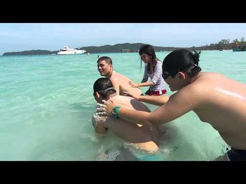 Massage cát - Phóng sự đặc biệt từ Koh-rong-Cambodia
