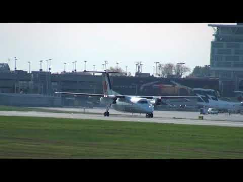 Air Canada Express DHC-8-102 Dash 8 (C-GONR) Takeoff 06R Montreal Trudeau YUL   CYUL