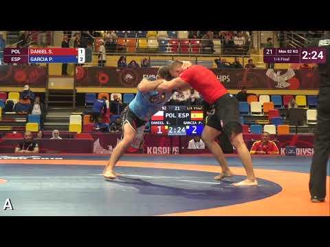 1/4 Men - 92 kg: S. DANIEL (POL) v. P. GARCIA (ESP)