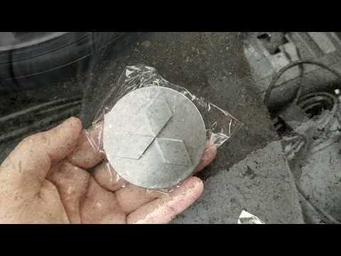 Колпачки заглушки (60 мм) на литые диски Lancer X