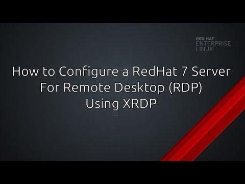 RHEL7/CentOS - How To Access Remote Desktop (RDP) Using XRDP
