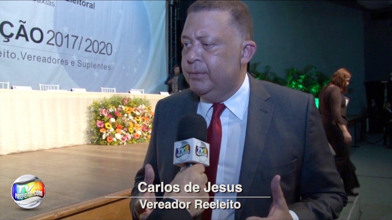 VEREADOR CARLOS DE JESUS REELEITO PARA O QUARTO MANDATO ...