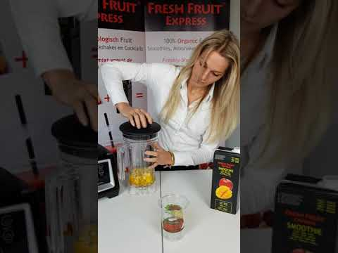 Fresh Fruit Express Preparation Smoothie Basic Blender English