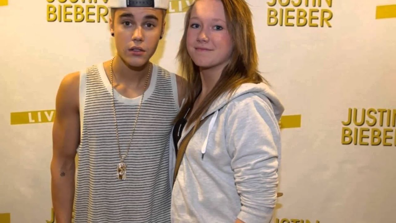 Mg Justin Bieber With Fans In Oslo Norway Believe Tour April