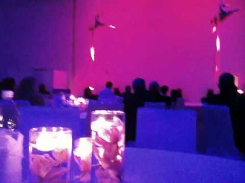 "Acrobats at Abu Dhabi Media Company launch of ""Classic FM"""