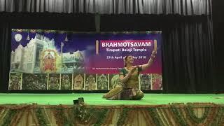 Om Namo VENKATESAYA| ft. Divya, Sanya, Chandni | Atiiksha Dance Company Choreography