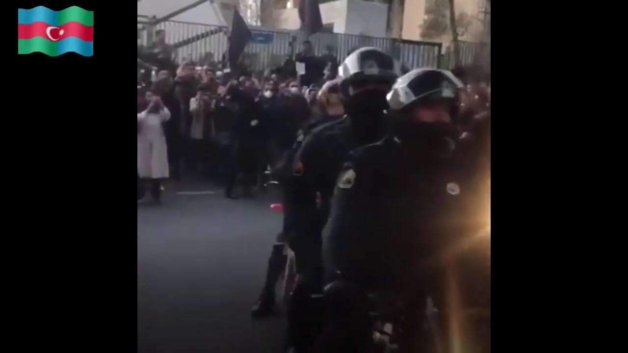 Tahran: Ukrayna uçağı'nın vurulmasına itirazlar - تظاهرات تهران