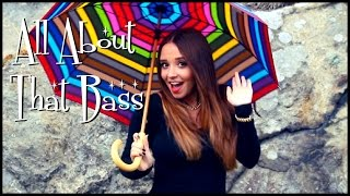 all about that bass meghan trainor   ali brustofski cover music video
