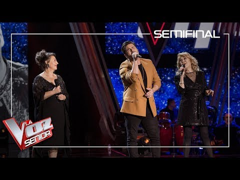 David Bustamante Y Los Talents De Pablo López Cantan 'Desde Que Te Vi' | Semifinal | La Voz Senior