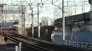 東海道本線5767列車(大府~富田)EF66-129+ホキ1000フライアッシュ