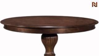 Kincaid 83-052p Keswick Round Pedestal Table Package