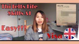VISAUK-Chia Sẻ Kinh Nghiệm Thi IELTS LIFE SKILLS A1