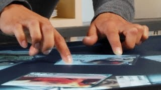 видео Строение сенсорного экрана