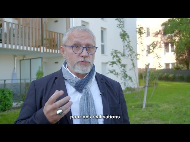 ALILA – Inauguration DOMINO à Arnas - Pascal LAGRUE – Vice-Président Alliade Habitat
