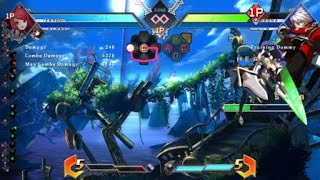BLAZBLUE CROSS TAG BATTLE TRY TO BLOCK THIS