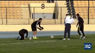 Erbil sport club VS Iraq Olympic Team