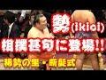 角界イチの歌唱力!勢(ikioi)が相撲甚句に登場!【稀勢の里・引退相撲・2019.9.29】