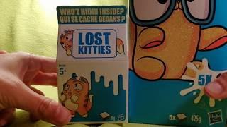 Новинка 2018 года: Котенок в молоке новая коллекция игрушек Lost Kitties