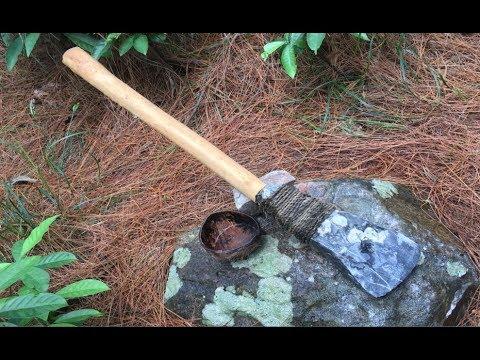 Primitive Survival Skills: Technology Make A Shovel Primitive
