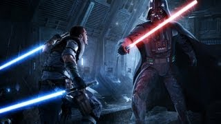 Force Unleashed II - Original Starkiller vs Darth Vader - Light Side Ending HD