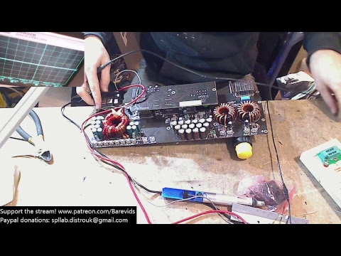 jl audio xd1000/1 amplifier repair  output section