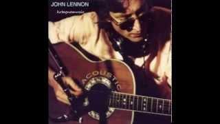"""""""Acoustic"""" Álbum recopilatorio compuesto por grabaciones caseras, de estudio y/o en directo de John Lennon, interpretadas con guitarra acústica y publicado ..."""