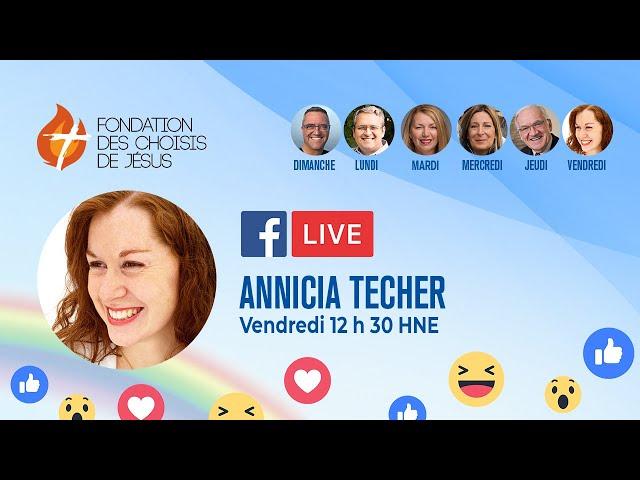 Facebook Live quotidien 08/01/2021 - Prêts à Sa rencontre ?