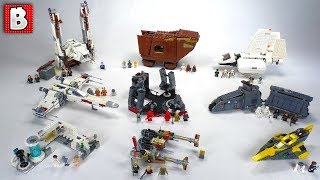 Best and Worst All LEGO Star Wars Summer 2018 Sets Reviewed!!!