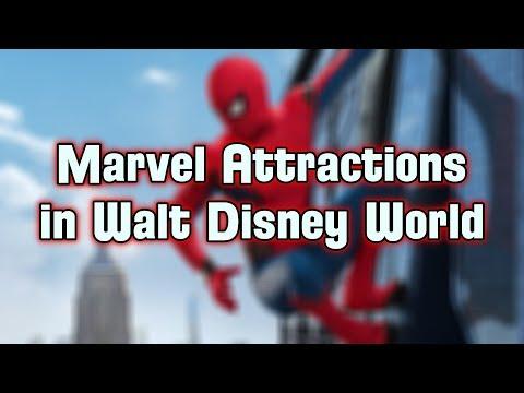 Disney Explained - Marvel Attractions/Rides In Walt Disney World