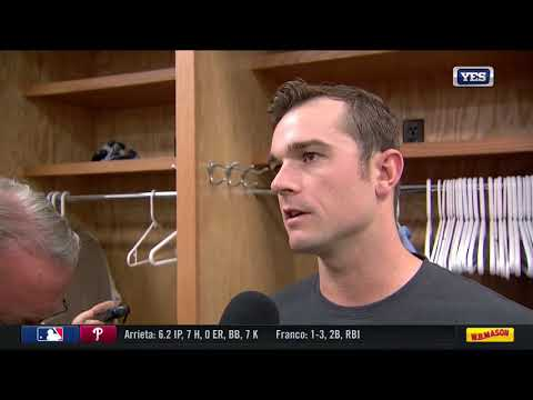 David Robertson on blowing the Yankees lead over the Rangers