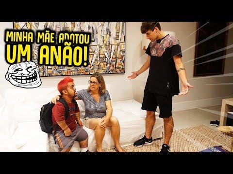 MINHA MÃE ADOTOU O ANÃO!! - TROLLANDO REZENDE [ REZENDE EVIL ]