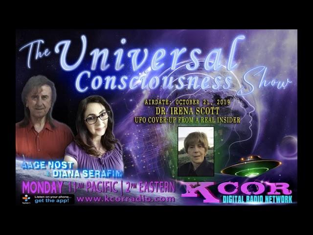 UFO cover-up insider Irena Scott