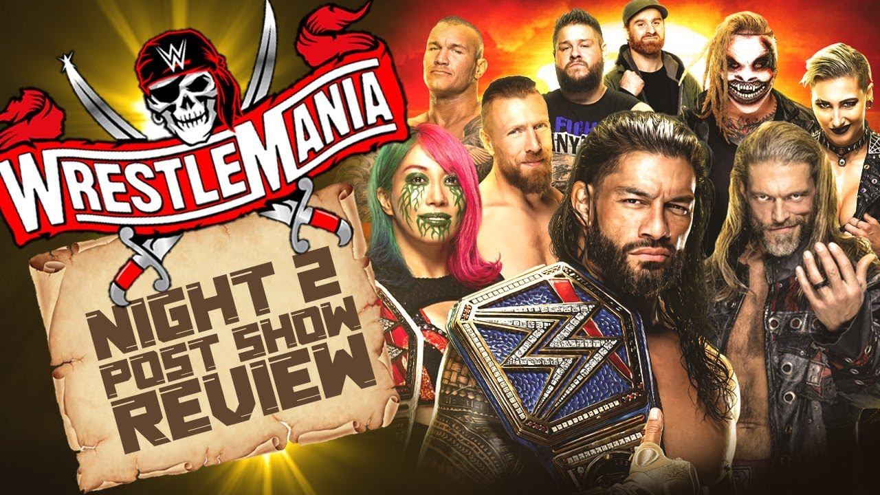 WrestleMania 37 match grades: Roman Reigns retains title over ...