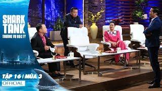 Shark Tank Việt Nam : Thương Vụ Bạc Tỷ Mùa 3 Tập 16 Full HD