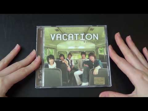 Unboxing TVXQ! 동방신기 Theater Drama Vacation Original Soundtrack