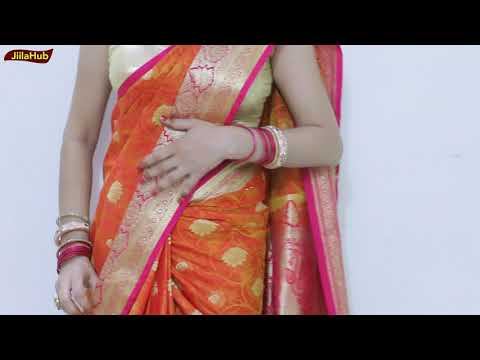 How to saree wear below navel youtube new photo