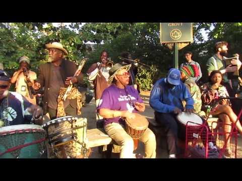 Prospect Park Drummers Grove October 22, 2017