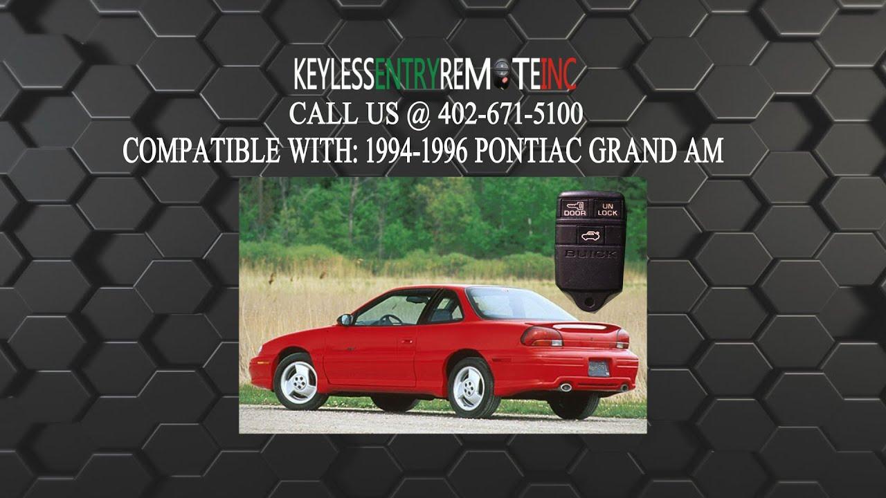 1997 pontiac grand am repair manual
